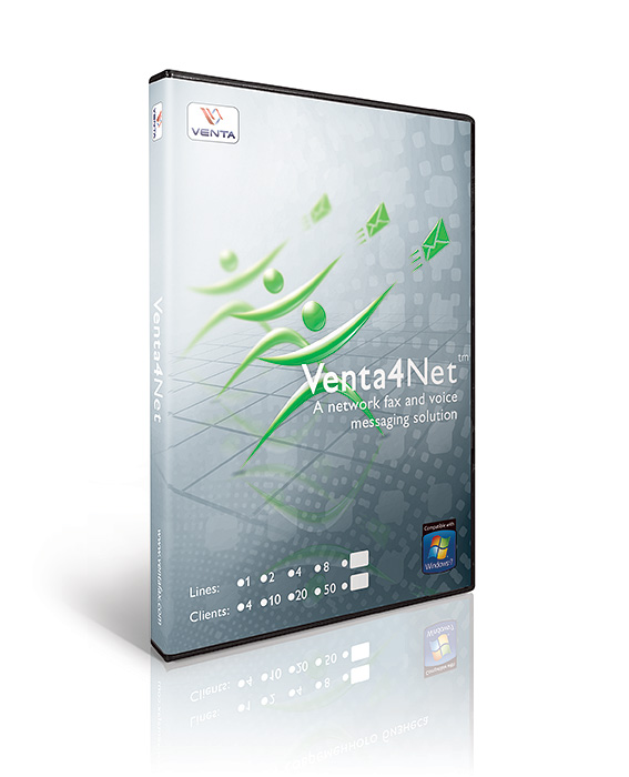 venta4net network fax server software solution